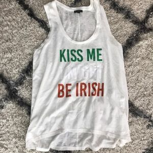 "30fcaeda Express Tops - Express tank ""St Patty's Day outfit!"""